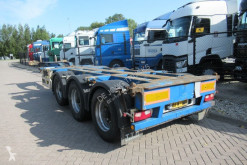 Semi remorque Pacton T3-010 / 3x Extendable / Lift axle porte containers occasion
