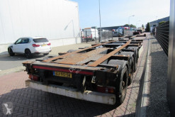 Semirimorchio portacontainers Krone SDC 27 Chassis / Extendable / Disc brakes / Lift axle