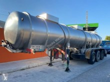 Félpótkocsi Parcisa használt vegyi anyagok tartálykocsi