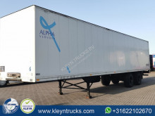 Used box semi-trailer Talson F 1227