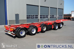 Broshuis 2CONNECT-5AKCC | 4 x LIFT AXLE * 3 x STEERING AXLE semi-trailer used container