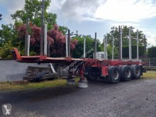 Used timber semi-trailer Billaud