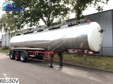 Maisonneuve tanker semi-trailer Food 29907 liter isolated Food tank, 4 Compartments, Steel suspension, 0.3 bar
