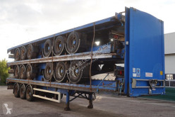 Montracon flatbed semi-trailer Flatbed 13.6M, ROR, DRUM