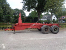 Nooteboom 2000kg semi-trailer used container