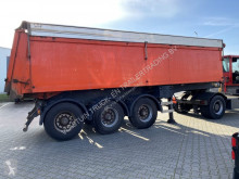 Semi remorque ATM isolated tipper with hydraulic aluminium roof benne occasion