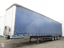 Trailer Schmitz Cargobull SAF , Mega Curtainside Trailer tweedehands Schuifzeilen