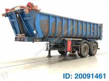 Semi remorque benne occasion GT Trailers 22 cub in steel