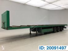 LAG Plateau semi-trailer used flatbed