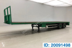 LAG Plateau semi-trailer used flatbed