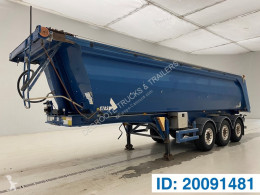 Stas 28 cub in alu semi-trailer used tipper
