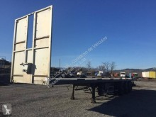 Samro ST39MHPA semi-trailer used flatbed