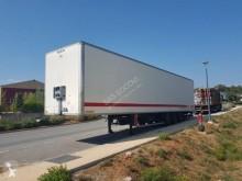Fruehauf 3 ESSIEU semi-trailer used plywood box