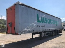Samro S3MB2 semi-trailer used reel carrier tautliner