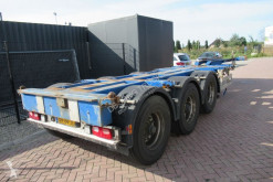 Semi remorque porte containers occasion Pacton T3-010 / 3x Extendable / Disc brakes / Lift axle
