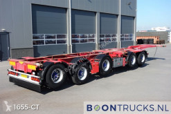 Trailer Broshuis 2 CONNECT-5AKCC | 4 x LIFTACHSE * 3 x LENKACHSE tweedehands containersysteem