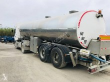 Magyar VO 0058 - CITERNE ALIMENTAIRE 2 ESSIEUX semi-trailer used tanker