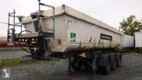 Félpótkocsi Schmitz Cargobull 24m3 hardox használt billenőkocsi alapozáshoz