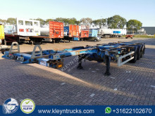 Van Hool container semi-trailer MULTI ALL CONNECTION saf disc + liftaxle