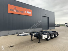 Semi remorque LAG 20FT/3-axles, empty weight: 3.160kg, discbrakes, ADR (EXII, EXII, FL, AT), ALCOA, NL-Chassis, APK/ADR: 07/2021 occasion