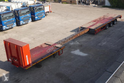 Trailer Broshuis MIX-93 Uitschuifbaar Platform 90cm height / 20m length / MEGA / Multi Twistlocks tweedehands platte bak