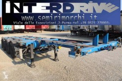 Semitrailer containertransport begagnad OMT semirimorchio portacontainer allungabile usato