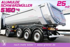 Semi remorque Schwarzmüller K serie /ALUMULDE 5160 KG 25m³/ ALU/STAHL benne neuve