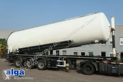 LAG powder tanker semi-trailer 0-3039 KT/52 m³./Pumpe/Alu