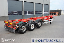 Semitrailer containertransport begagnad Van Hool 3B0070 | 2x20-30-40-45ft HC * DISC BRAKES