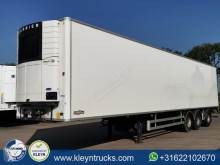 Used mono temperature refrigerated semi-trailer Chereau TAILLIFT last axle steering c