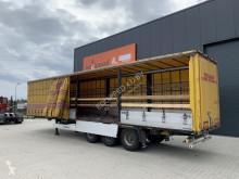 Félpótkocsi Krone 10x Bordwandsider, BPW, Trommel használt függönyponyvaroló