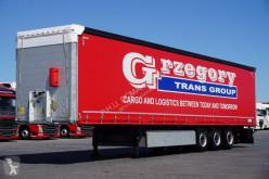 Used tautliner semi-trailer Schmitz Cargobull - FIRANKA / XL / MULTI LOCK / 2 X OŚ PODNOSZONA