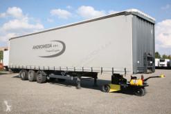 Used tautliner semi-trailer Krone SEMIRIMORCHIO, CENTINATO FRANCESE, 3 assi