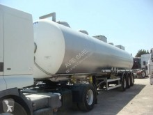 Maisonneuve CITERNE INOX CHIMIQUE MONOCUVE CALORIFUGE 38T 34309LCOMPRESSIBLE 3 ESSIEUX SMB SUSPENSIONS AIR FREINS A DISQUES semi-trailer used chemical tanker