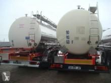 Semiremorca Maisonneuve CITERNE INOX CHIMIQUE MONOCUVE CALORIFUGE 34T 29954L3 ESSIEUX FRUEHAUF SUSPENSIONS LAMES FREINS TAMBOURS cisternă produse chimice second-hand