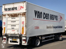 Semi remorque HTF CITY GESLOTEN TRAILER / STUUR-AS / LAADKLEP occasion