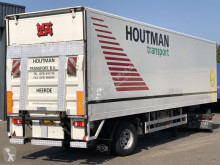 Semi reboque Pacton CITY GESLOTEN TRAILER / STUUR-AS / LAADKLEP usado