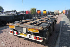 Trailer D-TEC FT-43-03V / 3x Extendable / Lift Axle tweedehands containersysteem