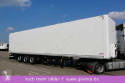 Semi remorque Schmitz Cargobull SKO SKO 24/ ZURRLEISTE /ZURRINGE / TOP nur 300 tsd fourgon occasion