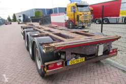 Semi remorque Nooteboom FT-43-03V / 3x Extendable / 2x Lift axle porte containers occasion
