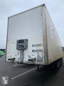 Fruehauf FOURGON 3 ESSIEUX semi-trailer used plywood box