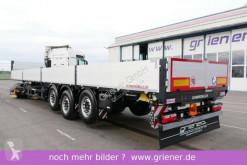 Sættevogn flatbed sidetremmer Schwarzmüller S1 / BAUSTOFF 600 mm bordwände 2 x LIFTACHSE