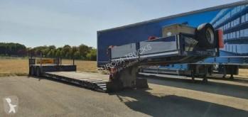 Faymonville semi-trailer used heavy equipment transport