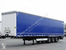 Used tarp semi-trailer Krone CURTAINSIDER /STANDARD/ LIFTED AXLE/XL CODE/2016