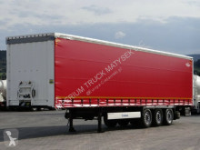 Used tarp semi-trailer Krone CURTAINSIDER /STANDARD/ LIFTED AXLE/XL CODE/2015