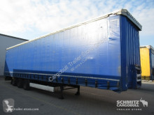 Krone Curtainsider Mega semi-trailer used tautliner