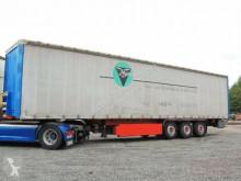 Used tarp semi-trailer Krone Pritsche/Plane