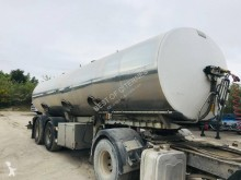 Magyar VO 0058 - CITERNE ALIMENTAIRE 2 ESSIEUX semi-trailer used food tanker