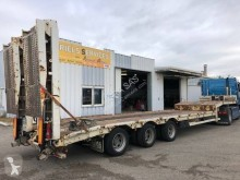 Castera 3 essieux susp air semi-trailer used heavy equipment transport