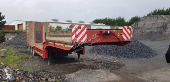 Gheysen et verpoort semi-trailer used heavy equipment transport